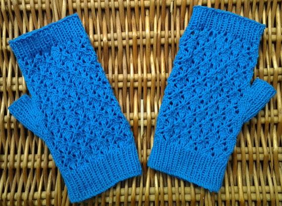 Wristwarmers / Armwarmers / Handwarmers / Fingerless gloves for women. Diamond Jubilee inspired.