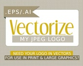 Vectorize my logo for use in print and large graphics
