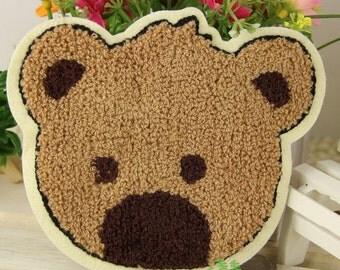 Sew on Fabric Patch - Bear - FP27