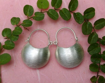 Handmade Silver Earrings - The Lucky Silver Bag(2)
