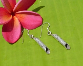 Hill Tribe Silver Earrings - The Movie Of Life