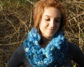 Copper Ice Chunky Cowl