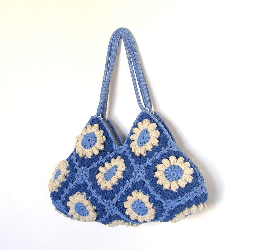 Flower Crochet Bag : All Bags & Purses
