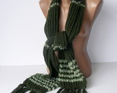knit green scarf,fashion accessories for woman,very soft,warm,chic,gift ideas,for her,special gift,mom
