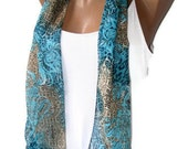 summer Fashion scarf,Loop scarf,Infinity scarf,floral ,chiffon fabric,soft,gift ideas,for woman,woman scarves,2012 fashion ,seno