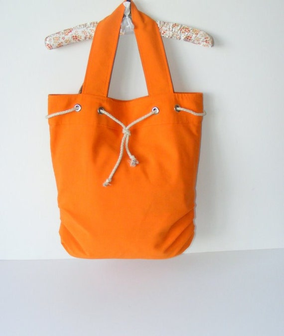 Orange bag,Ready to Shipping,Everyday Bag - orange,Pleated bag,new trend,gift ideas,for her,fashion purse,by Seno