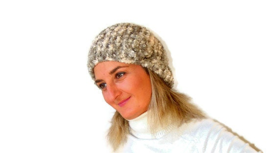Knit hat ,knitted hat ,winter fashion ,accessories ,beige gray , adult super soft, fashion, crochet trends, for her, gifts ideas