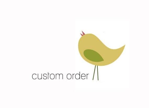 Custom Listing for Anita Jordan