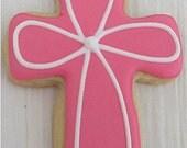 Cross Cookies 2 dozen