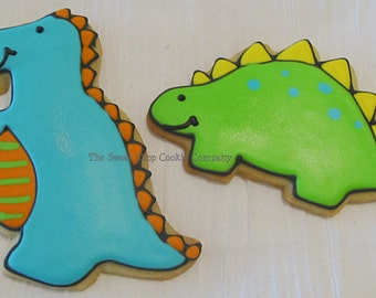 Dino Party cookies 2 dozen