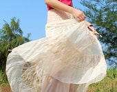Lace Maxi Skirt Women Long Skirt/ Summer Short Party Dress Hippie Women Summer Skirt