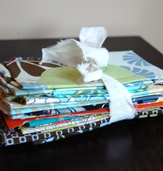 Designer Scrap Fabric Bundle- 10.3 ounces