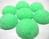 3 Dozen Sugar Dots Cubes Green Easter Colored for Little Tea Parties, Easter, Showers, Graduation