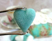 6 Dozen Robin's Egg Blue and White Heart Shaped Sugar Cubes