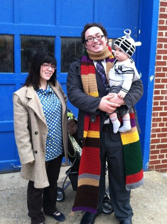 Dr. Who Inspired 15' Super Long Scarf
