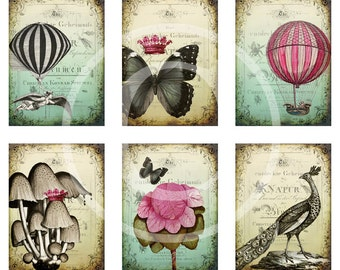 Shabby Whimsy - Digital Collage Sheet