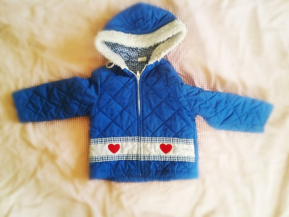 blue heart jacket