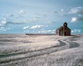 Abandon Church in a ghost town,  fine art photography print
