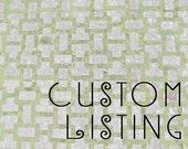 Custom Listing for Kristin