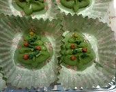 Christmas Tree Lemon Fudge Treats
