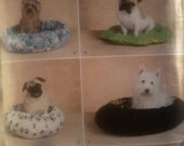 Dog Pet Bed Pattern by Simplicity