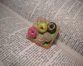 donut platter ring
