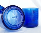 Colbalt blue glass mug......Mexico.....sold separately