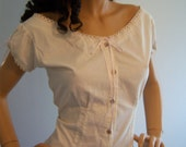 Made to order Large/Extra Large Civil War Camisole Corset Cover