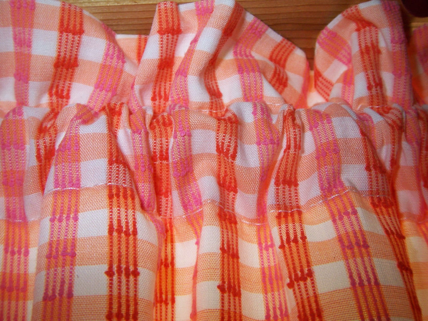 Kitchen Curtains Retro Vintage by CottageClever on Etsy