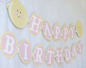 Pink Lemonade Birthday Banner