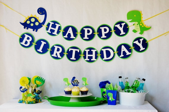 DinoROAR First Birthday Party Package for Boys