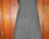 Cotton denim work apron - Harrison