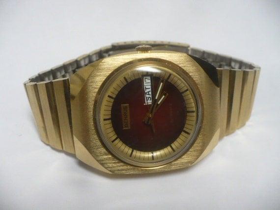 Mens Watch Benrus Vintage Automatic