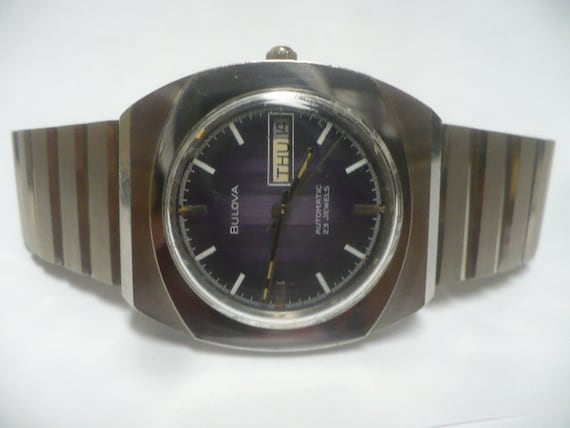 Mens Watch Bulova 1975 Automatic