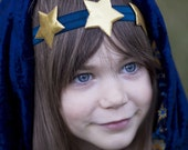 Starry Night Headband- Fits toddler to adult