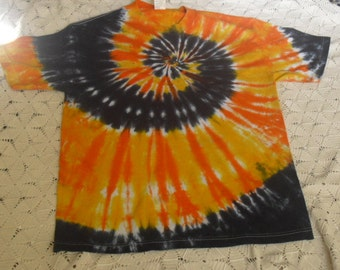 Tie dye shirt Adult Large Mysterious Sunset- San Francisco Giants, 350