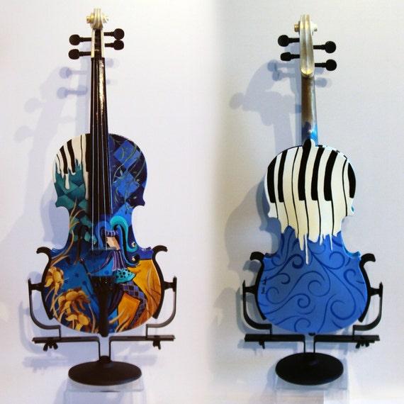 Jest Kidding Hand Painted Violin