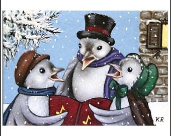 ACEO Christmas art print