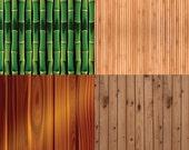 "Bamboo Digital Scrapbook Paper Pack - 8 Papers - 300 DPI - 12"" x 12"""