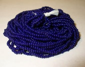 Seed Beads - Size 11/0 Opaque Cobalt Blue