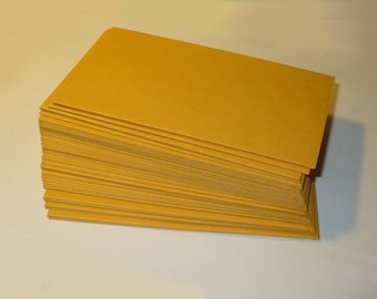 Small Manilla Envelopes - 3 x 6 Inches