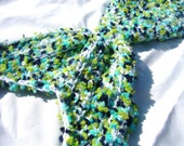 Mermaid Tail Photo Prop - TAIL ONLY - Boy or Girl - 0-3 Months