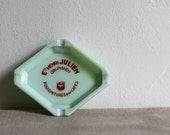 vintage jadite french bistro ashtray