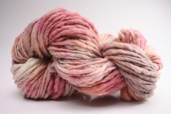 Thick and Thin Slub Yarn TTS Hand dyed Fine Merino 55tts12015 Sita