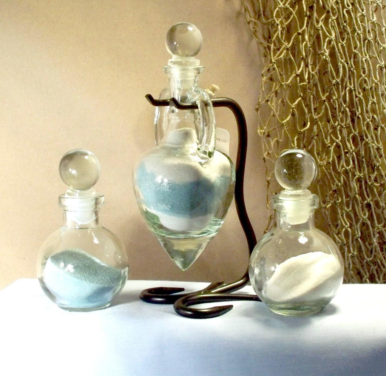 sand ceremony set wedding sand ceremony Personalized Unity Sand Ceremony Set Amphora with glass stoppersStyle