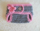 Crochet Diaper Cover, Baby Girl Diaper Cover, Newborn Girl Diaper Cover Photo Prop, Newborn Diaper Cover, Baby Diaper Cover