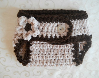 Newborn Diaper Cover, Crochet Diaper Cover, Baby Bloomer Diaper Cover, Baby Diaper Cover Girl, Newborn Bloomer Diaper Cover