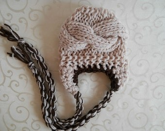 Baby Hats, Baby Boy Hats, Newborn Hats For Boys, Newborn Baby Boy Hats, Knit Baby Boy Hats with ear flaps Toddler Boy Hats