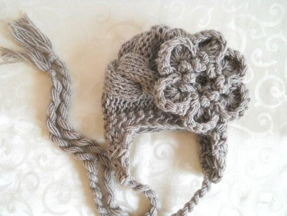 Newborn Baby Girl Hat, Baby Hat, Newborn Photo Prop Hat