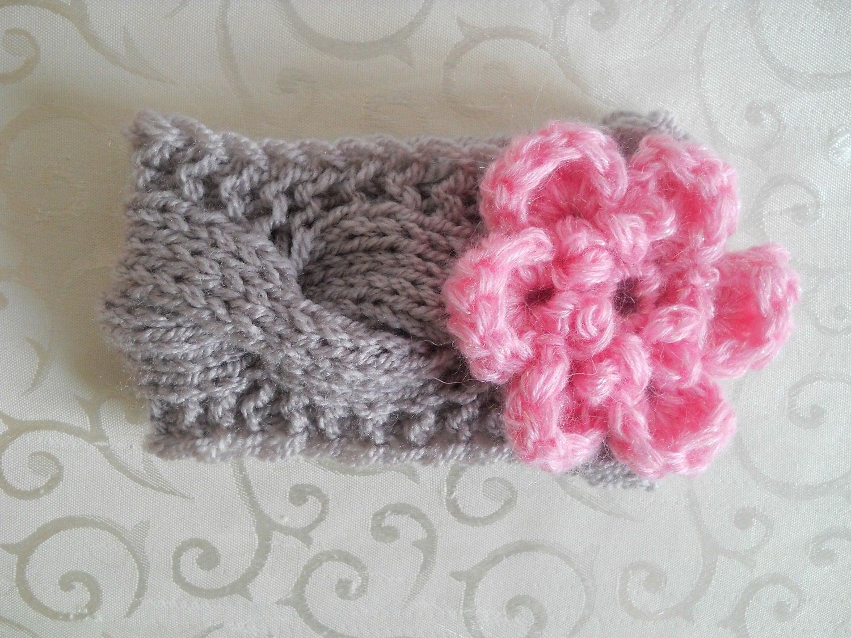 Baby Crochet Headband Newborn Crochet Headband Baby by ...